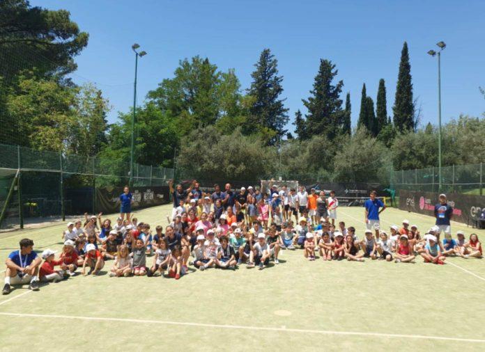 Junior Tennis Perugia: buoni numeri il centro estivo. Bilancio positivo delle prime tre settimane dei