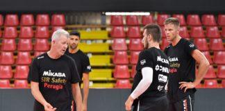 """Sir, Heynen: """"Livello degli allenamenti molto alto"""". Il tecnico di Perugia commenta la preparazione dei Block Devils: """"I ragazzi mettono grande voglia"""""""