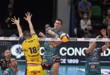 """Sir, Ricci: """"Supercoppa nel cassetto, ora Vibo"""". Il centrale di Perugia: """"Calabresi da prendere con le molle, vogliamo cominciare bene in campionato"""""""
