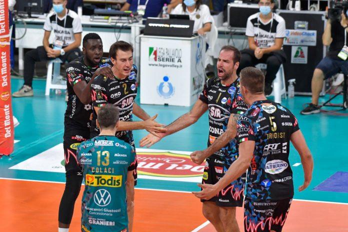 Sir con mezza finale in tasca: Modena si inginocchia. I Block Devils vincono 3-0 nell'andata della semifinale di Supercoppa. In Emilia basterà conquistare un set