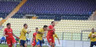 Il Perugia riporta 3 punti dalla trincea di Modena. Una rete di Murano nel primo tempo piega gli emiliani. Ma nella ripresa che sofferenza...