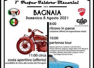 """Primo """"Trofeo Biscarini"""" a Bagnaia. Domenica 8 Agosto si scaldano i motori per il raduno di auto e moto d'epoca"""