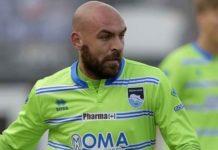 Qui Pescara: Bruno picchia un tifoso abruzzese. Il centrocampista ha rifilato dei colpi ad un 22enne che lo ha insultato