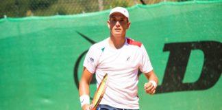 """Memorial """"Poppy Vinti"""": Passaro cade al secondo turno. L'alfiere dello Junior Tennis Perugia sconfitto dallo sloveno Puches"""