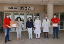 Il Perugia Club di Castello aiuta l'Ospedale tifernate. Donati dispositivi di protezione da coronavirus agli operatori sanitari