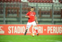 """Angella: """"Testa già alla Samb"""". Il difensore del Perugia: """"Bravi dal punto di vista tecnico-tattico e fisico. Ma pensiamo subito alla prossima gara"""""""
