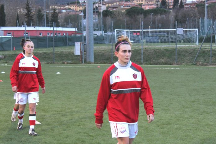 Perugia Femminile in campo nella capitale. Le Grifoncelle sfidano la Roma CF. Piselli: