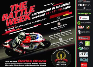TheBattleWeek: spettacolo su due ruote a Magione. Le moto faranno da padrone all'Autodromo dell'Umbria. Carlos Checa ospite d'onore